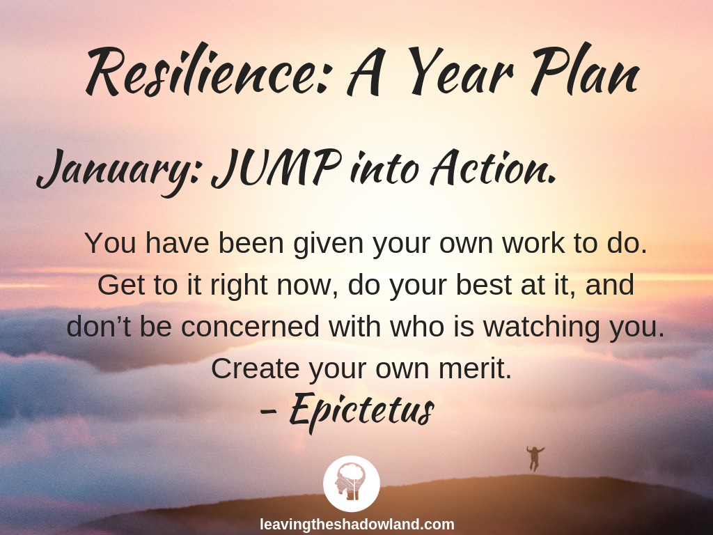 Resilienc Plan for January: JUMP into Action.